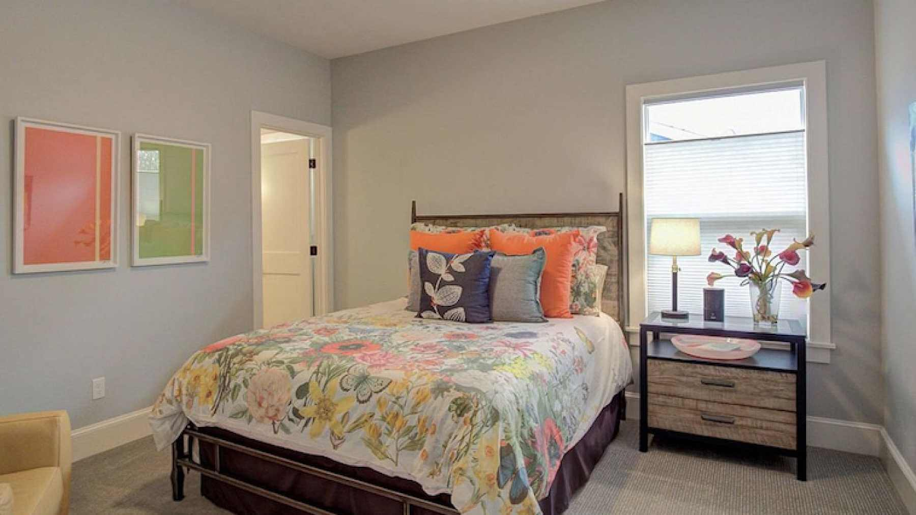 Bedroom Walls In Sherwin Williams Agreeable Gray